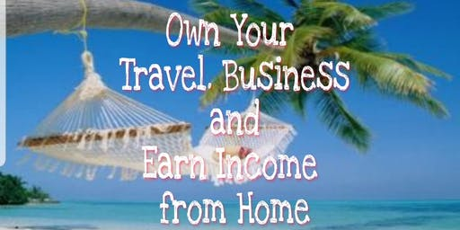 Earn Income from Home. Own your Travel Business.
