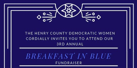 Henry County Democratic Women's Breakfast In Blue w/ U.S. Congressman David Scott tickets