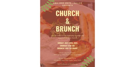 UIU Dallas Church & Brunch tickets