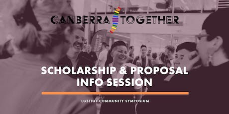Canberra Together Scholarship & Proposal Information Session tickets