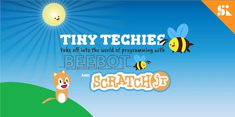 Tiny Techies 1: Take Off with Beebot, littleBits & Scratch Junior, [Ages 5-6], 9 Sep - 13 Sep Holiday Camp (9:30AM) @ Thomson tickets