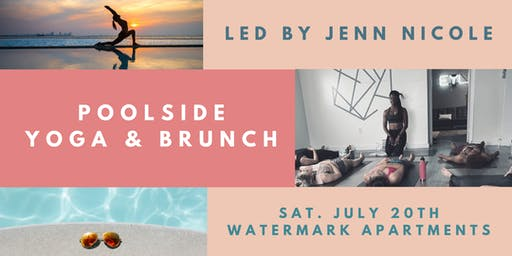 YOGA & BRUNCH BY THE POOL