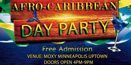 AFRO-CARIBBEAN DAY PARTY  tickets
