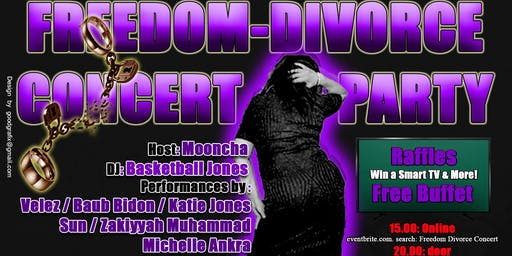 Freedom/Divorce Party-Concert / NewHavens Hottest
