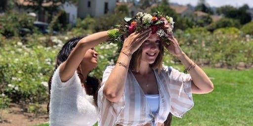 Hawaiian Flower Crown Workshop
