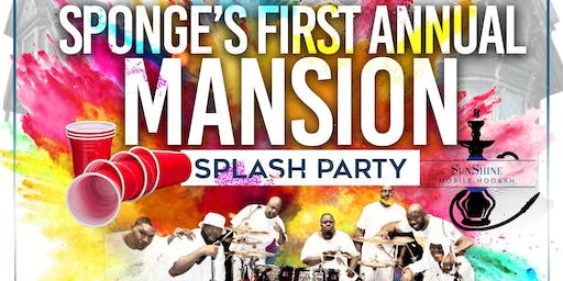 Mansion Pool Party Featuring Backyard BAND