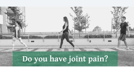 FREE public seminar! Reduce joint pain by moving better!