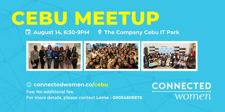 #ConnectedWomen Meetup - Cebu (PH) - August 14 tickets