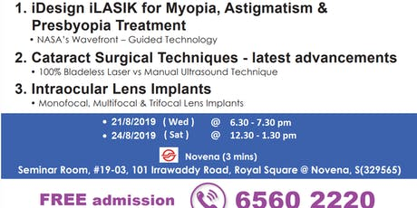 LASIK  &  Cataract  Surgery  Eye  Forum tickets