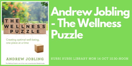 Author Talk: Andrew Jobling - The Wellness Puzzle tickets