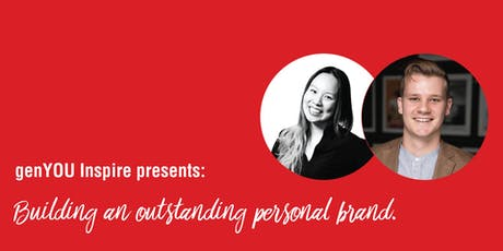 Building an outstanding personal brand. | genYOU Inspire  tickets