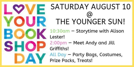 Love Your Bookshop Day 2019 at The Younger Sun! tickets