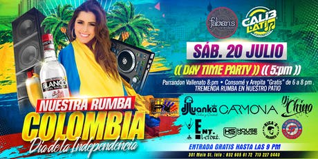 "NUESTRA RUMBA ""COLOMBIA"" DIA DE LA INDEPENDENCIA  tickets"