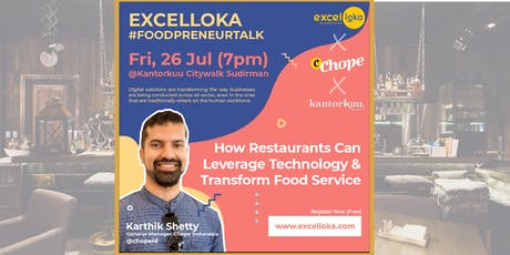 EXCELLOKA : How Restaurants Can Leverage Technology & Transform Food Service tickets