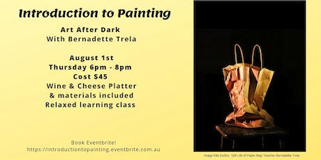Introduction to Painting Art After Dark  tickets