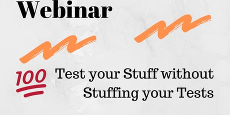 Webinar | Factory Boy and Faker: Test your Stuff without Stuffing your Tests  tickets