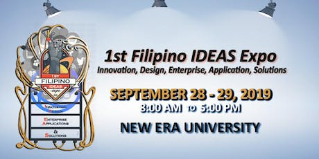1st Filipino IDEAS Expo tickets