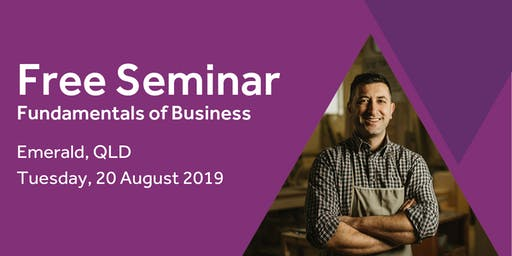 Free Seminar: Business Basics 101 – Emerald 20th August