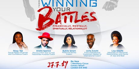 YBLN Conference 2019 - Winning Your Battles tickets