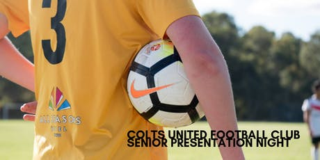 Colts United Football Club Senior Presentation Night tickets