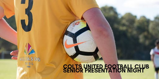 Colts United Football Club Senior Presentation Night