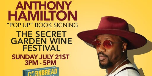 Anthony Hamilton Pop-Up Book Signing at Secret Garden