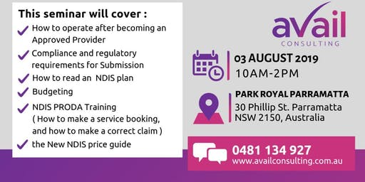 GOT YOUR PROVIDER NDIS APPROVAL?  WHAT NEXT?  NDIS OPERATIONAL TRAINING