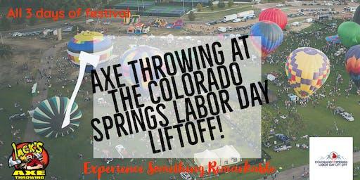 Colorado Springs Labor Day Liftoff | Axe Throwing Extravaganza