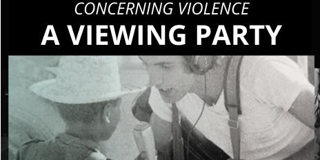 USM-Seattle Concerning Violence A Film Screening