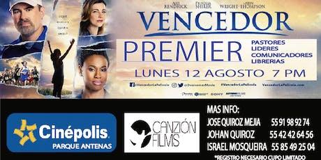 PREMIER PELICULA VENCEDOR CDMX SUR tickets