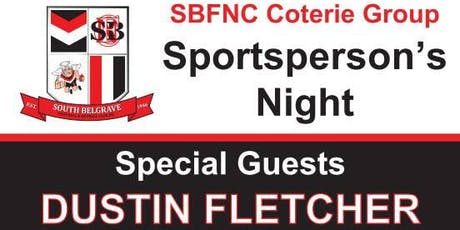 The South Belgrave Coterie Sportsperson's Night tickets