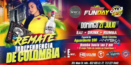 REMATE INDEPENDENCIA DE COLOMBIA  tickets