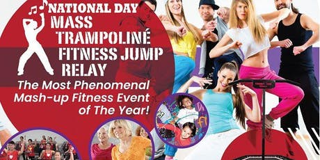 National Day Mass Trampoliné Fitness Jump Relay + Zumba® Fitness tickets