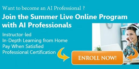 Becoming an AI Professional with AI Experts (3 Weeks Live Online AI Bootcamp) tickets