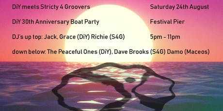 S4G and DiY 30th Anniversary Boat Party tickets