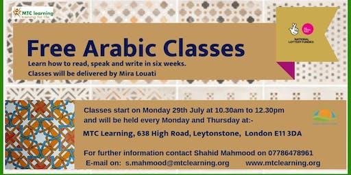 FREE ARABIC CLASSES