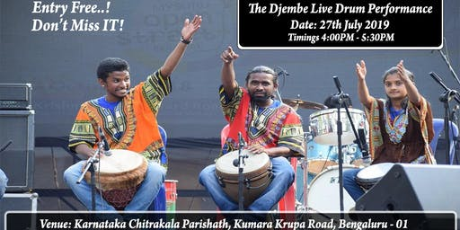 The Djembe Live Performance