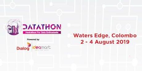 Datathon tickets