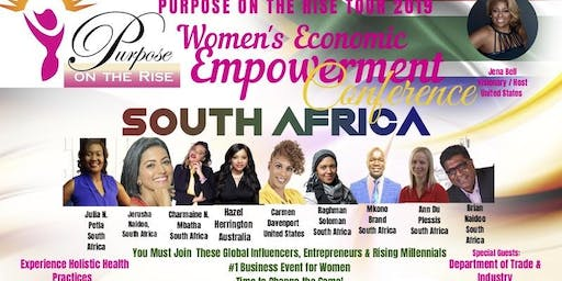 Purpose on the Rise 2019 Women's Economic Empowerment Conference- JOHANNESBURG