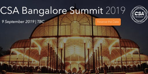 CSA Bangalore Summit 2019