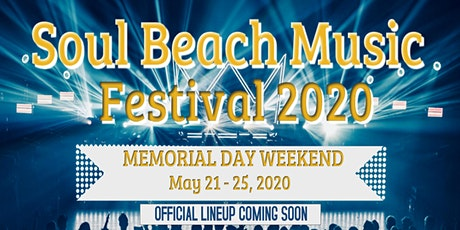 Soul Beach Music Festival 2020 tickets