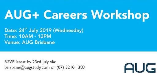 AUG Plus Careers Workshop Seminar 2019