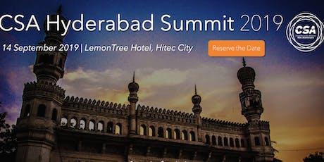 CSA Hyderabad Summit 2019 tickets