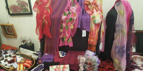 Fibre Arts Gallery Shop by Queensland Spinners Weavers & Fibre Artists tickets