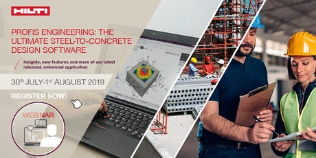 Webinar: PROFIS engineering -the ultimate steel-to-concrete design software tickets