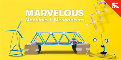 Marvelous Machines & Mechanisms, [Ages 7-10], 9 Sep - 13 Sep Holiday Camp (2:00PM) @ Bukit Timah tickets