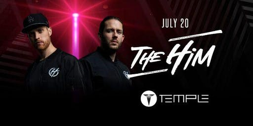 THE HIM at Temple SF - FREE guest list (trend sf)