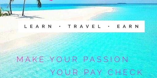 Learn How To Make Additional Income In The 8 Trillion Dollar Industry Of Travel!                    (Free Tickets)