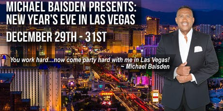 Michael Baisden Presents: New Year's Eve In Las Vegas At The Palms Hotel tickets