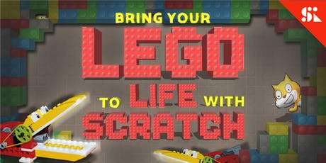 Bring Your Lego to Life with Code, [Ages 7-10], 9 Sep - 13 Sep Holiday Camp (2:00PM) @ Thomson tickets
